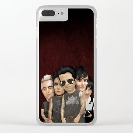 Urban Band Carricature iPhone 4 5 6 7, pillow case, mugs and tshirt Clear iPhone Case