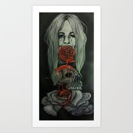 Lie to me Art Print