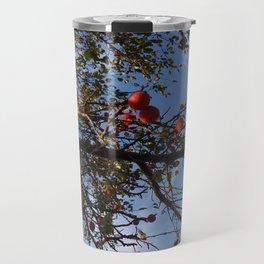 Cranberries & Sky Travel Mug