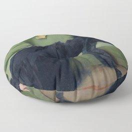 A DECADENT GIRL - RAMON CASAS Floor Pillow