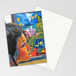Tahiti Girl Stationery Cards
