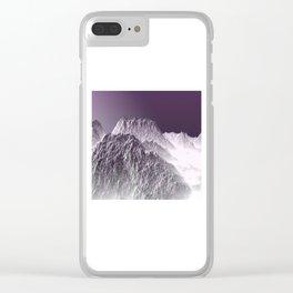 Winter Dream 01 Clear iPhone Case