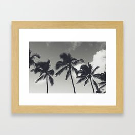 In the Palms of Hawaii Framed Art Print