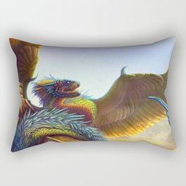 Quetzalcoatl 2018 Rectangular Pillow