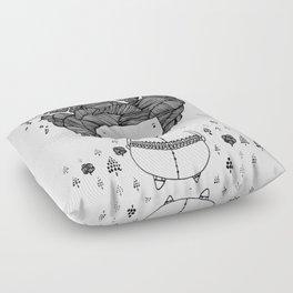 treegirl Floor Pillow