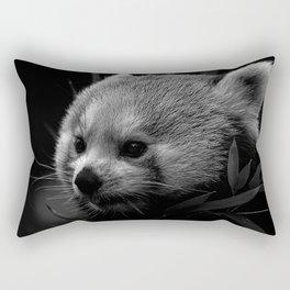 Awesome B&W red Panda Rectangular Pillow