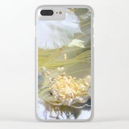 Cactus Flower - Fluff N Stuff Clear iPhone Case