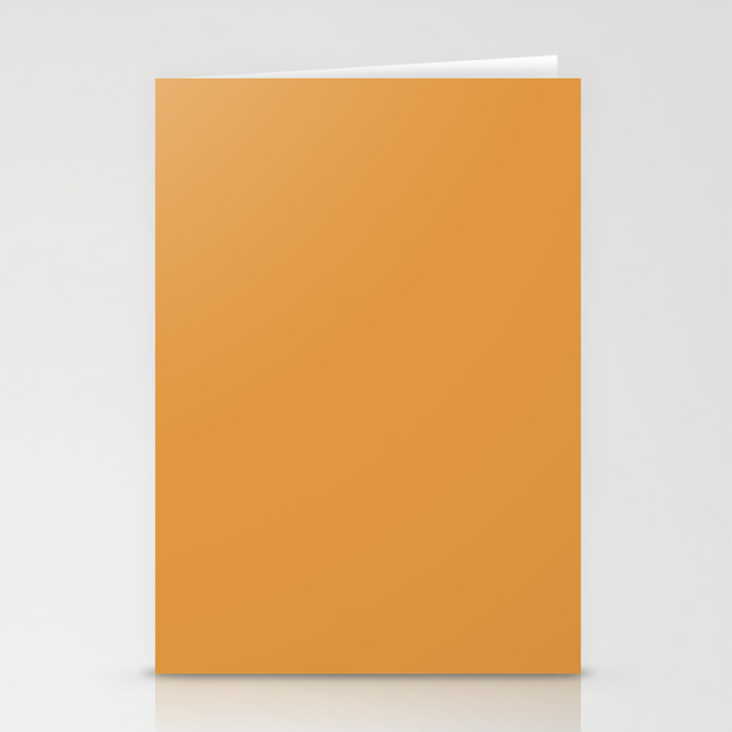 Butterscotch Color Accent Stationery Cards By Saravalor Society6
