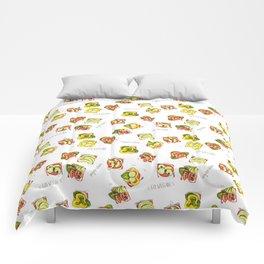 go vegan! Comforters