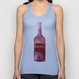 Santa Rosa, CA - Wine Country Love Unisex Tank Top