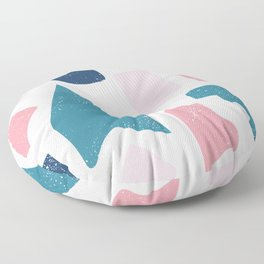 Parts of our lives Floor Pillow
