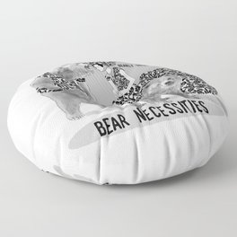 Bear Necessities #1 Bearly Secret Floor Pillow