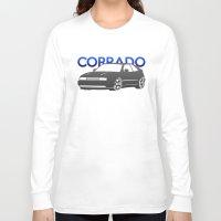volkswagen Long Sleeve T-shirts featuring Volkswagen Corrado by Vehicle