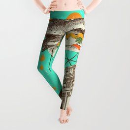 CHICAGO DOG Leggings