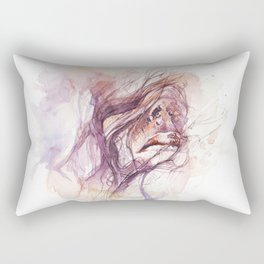 If you excuse me, I'll scream Rectangular Pillow