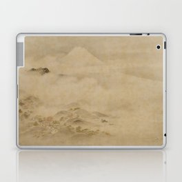 Japanese Edo Period Landscape Scroll of Mount Fuji - Kano Tanyu Laptop & iPad Skin