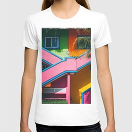 Colorful Caribbean Casa T-shirt