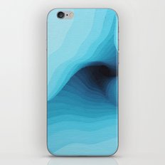 Glacial Twist iPhone Skin