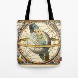 Celestial Map 1660c Tote Bag