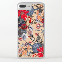 Magical Garden XIII Clear iPhone Case