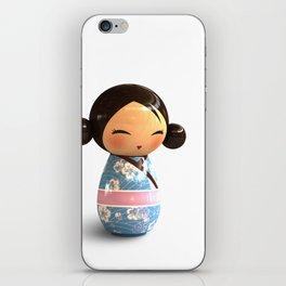 Kokeshi 03 iPhone Skin