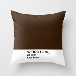 Cold Brew Throw Pillow