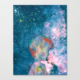 part of universe Canvas Print