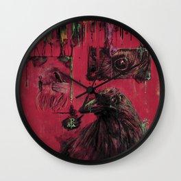 Edgar Allan Poe (Nevermore) Wall Clock