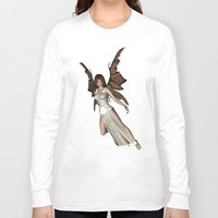 elf Long Sleeve T-shirts featuring Beautiful  elf by nicky2342