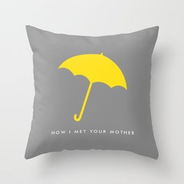 Mrs. Mosby Throw Pillow