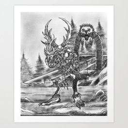 Sanctuary Guardian Art Print