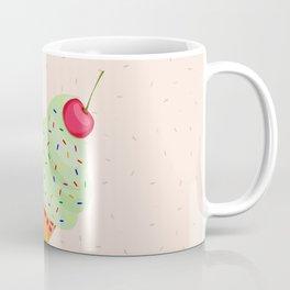 Colorful Ice Cream Cone Design Coffee Mug
