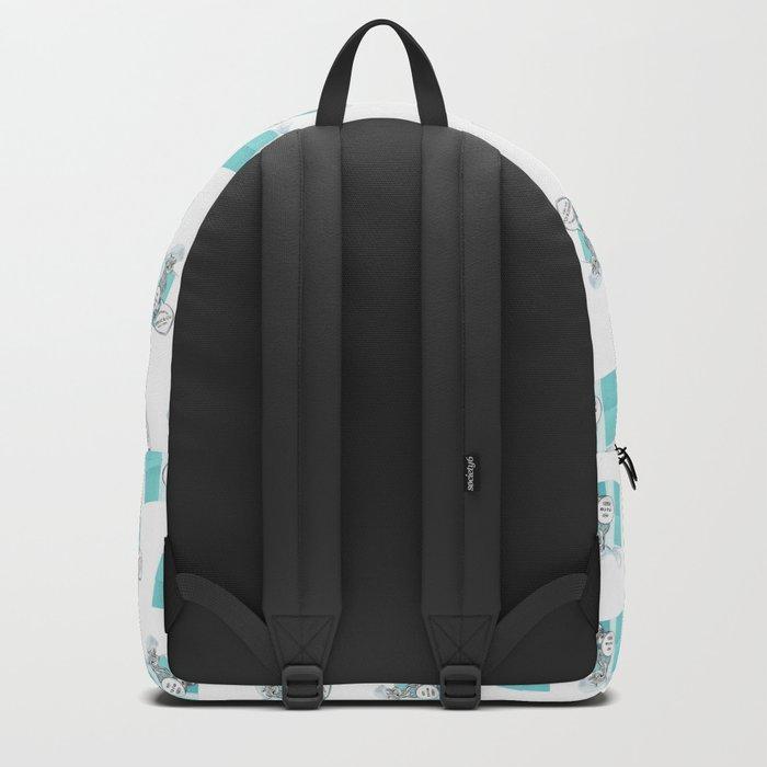 Blue Jewelry Box Backpack