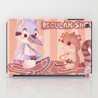 regular show iPad Cases featuring Regular Show by SweetOwls