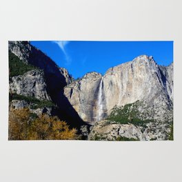 Yosemite Falls from Yosemite Valley Rug