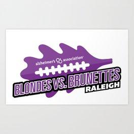 BVB Raleigh Logo Art Print