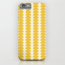 Maude Pattern - Golden iPhone Case