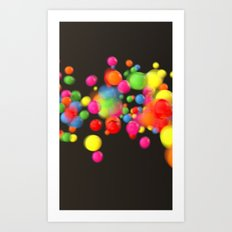 Motion Part 2 Art Print