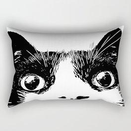 pussycat Rectangular Pillow