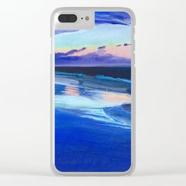 Tybee Island Beach Clear iPhone Case