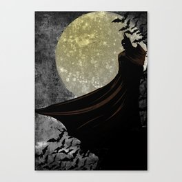 Guardian of the Knight  Canvas Print