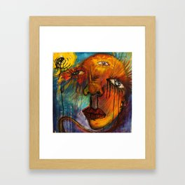 The Brook Speaks to Me Framed Art Print