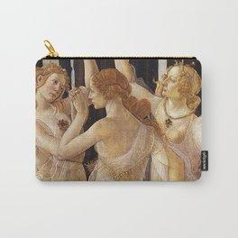 La Primavera - The Three Graces - Sandro Botticelli Carry-All Pouch