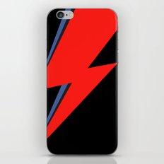 David Bowie Lightning bolt iPhone Skin