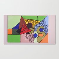 wild things Canvas Prints featuring Wild things by tmens