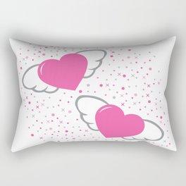 flaying hearts Rectangular Pillow