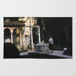 Vintage Color Photo * 1950's * Convent at Juliet's tomb * Verona * Italy Rug