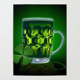 Pint Of Lucky. Poster