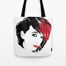 minimal girl 2 Tote Bag