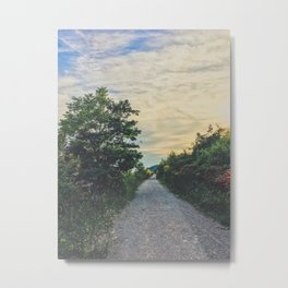 Sunset chill vibes Metal Print